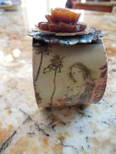 MAKING My Own FAIRYTALES Adjustable Cuff by DreamALittleDesigns, $25.00