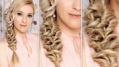 Party hair tutorial ❤ Everyday hairstyle for medium/long hair ★ Mermaid ...
