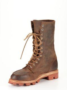 JD Fisk Kurt Lace-Up Boots.