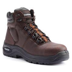 Reebok Work Trainex Men's Composite-Toe Sport Boots, Size: medium (9.5), Brown