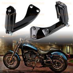 816c1e73da7 Set Left Right Rear Passenger Footpeg Foot Rest + Footpeg Mount Kit For  2006-2017 Harley Dyna Wide Super Glide FXD  astradepot  harleydavidson   harleylife ...