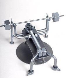 Gewichtheben - MetalDiorama-Metall-Kunst-Skulptur Wo sind die Produkte mit Sorgfalt gefertigt... Qualität ist das wichtigste, also ich diese Sammlerstücke zu schaffen wollte Dioramen etc. so detailliert wie möglich. Passt gut in jede Sammlung! Abmessungen: Höhe: 3,74 Zoll (95mm) Länge: 7,09 Inch (180mm) Breite: 6, 30 Zoll (160mm) Gewicht: 0,5 Pfund (515 Gramm) (Klicken Sie bitte auf Zoom, um das Bild in hoher Auflösung ansehen) Einzigartige handgefertigte Metall-Skulpturen aus Schrauben ...