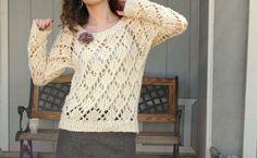 sew knit me: marshmallow lace free knitting pattern