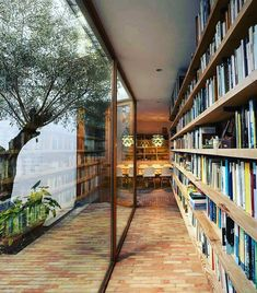 60 Wonderful Home Library Design Ideas To Make Your Home Look Fantastic. Home libraries are important resources for both you and your children. Home Library Design, House Design, Modern Library, Modern Loft, Library Ideas, Interior Exterior, Interior Architecture, Modern Interior, Japanese Interior Design