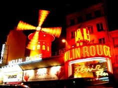Moulin Rouge - only because of the movie, which I j'adore.