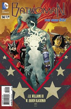 Batwoman #14 Cover | Artist: J.H. Williams III