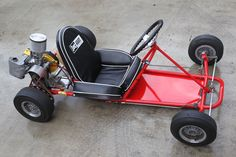 Rupp Dart Kart with McCulloch power, right side Karting, 3rd Wheel, Tricycle, Vintage Go Karts, Jeep Cj6, Go Kart Frame, Baby Strollers, Go Kart Plans, Diy Go Kart