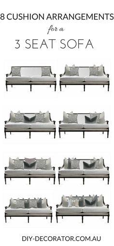 Miraculous 11 Best Couch Pillow Arrangement Images Living Room Decor Machost Co Dining Chair Design Ideas Machostcouk