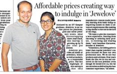 Jewelove as seen in the @jaipurdna today! Keep the positive energy flowing! Kudos to the team! #jewelove #news #india #featured #fb