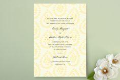 Print Block Wedding Invitations by Laura Hankins at minted.com