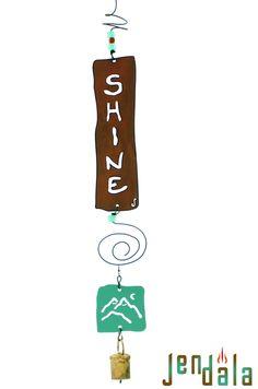 SHINE Chime, $34 https://jendala.com/affirmation-ornament-v