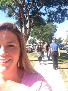 Amanda, our VP of Finance & IT, takes a lunchtime walk with her colleagues in support of Children's Hospital Colorado for the Miracle Marathon