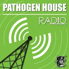 Launch graphics for Pathogen Radio show on www.mixlr.com