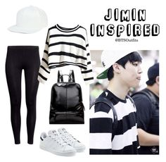 """Jimin Inspired Outfit"" by btsoutfits ❤ liked on Polyvore featuring H&M and adidas Originals"