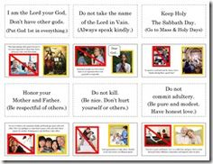 Lesson plans and activities for Catholic educators and parents. Catholic Crafts, Catholic Kids, Catholic Catechism, Catechist, Christian Crafts, 10 Commandments, Love The Lord, Teaching Strategies, Dear God