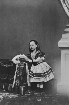 Princess Beatrice, 1861 [in Portraits of Royal Children Vol.5 1860-1861] | Royal Collection Trust