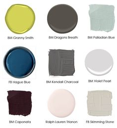 Farrow and Ball Skimming Stone. New Interior Design, Interior Paint, Room Colors, House Colors, Pottery Barn Fall, Skimming Stone, Palladian Blue, Kendall Charcoal, Hague Blue