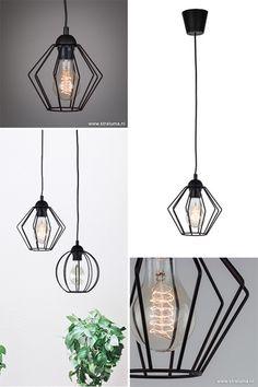 Industriele design hanglamp wit hal-wc - www.straluma.nl | Woontrend ...