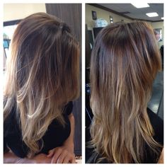 Bali-age ombre hair melt hair by Brooke wilson