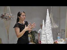 Новогодние идеи. Часть 2 из 5: Декоративные деревья - YouTube