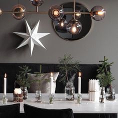 🌵Nordic Interior & DIY (@benedictehn) • Dining room •  dining room decor •  christmas decor •  tablesetting •  nordic christmas •  diningtable decor •  nature •  nordisk jul Nordic Christmas, Christmas Gifts, Christmas Decorations, Table Decorations, Diy Sofa, Nordic Interior, Trash To Treasure, Dere, Are You The One