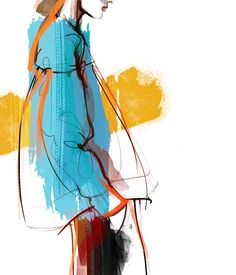Mode Nina Kosmyleva on Behance Related posts:Virginia Romo Illustration - costume Amazing Hair Drawing Ideas & Inspiration - Brighter Craft - costume ideasDie 35 besten Fashion-Looks von Splendor in the Grass. Fashion Illustration Portfolio, Illustration Art Nouveau, Fashion Design Portfolio, Illustration Mode, Fashion Design Sketches, Fashion Illustration Collage, Fashion Illustrations, Fashion Drawings, Fashion Sketchbook