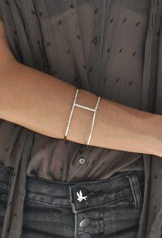 Jewel Cult - Gia Crystal Cuff Bracelet, $14.00 (http://www.jewelcult.com/gia-crystal-cuff-bracelet/)