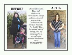 In 8 months she lost 90 pounds & gained tons of energy!