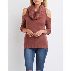 Cori Cold Shoulder SweaterCori Cold Shoulder Sweater | CHOMPAS ...