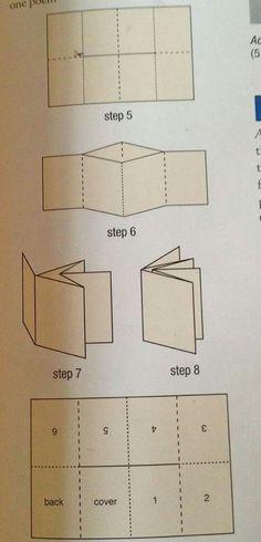 Origami design book folding Ideas for 2019 Up Book, Book Art, Make A Book, Paper Book, Paper Art, Cut Paper, Mini Albums, Book Crafts, Paper Crafts