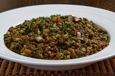 Palak Dal~if I add back legumes