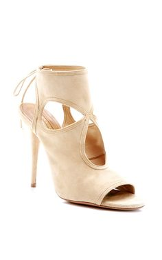 Sexy Thing Lace-Up Suede Sandals by Aquazzura - Pre-Fall 2014 (=)