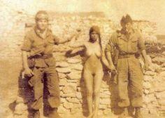 Shameful disgrace country. Guerre d'Algérie ( Viol et humiliation d'une villageoise algérienne )