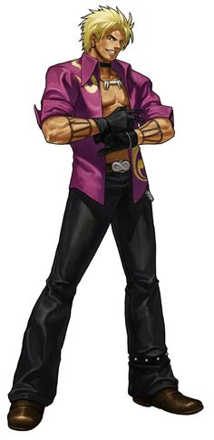 Shen Woo - Pictures & Characters Art - King of Fighters XIII