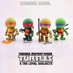 #onTOYSREVIL: Teenage Mutant Ninja Turtles by The Loyal Subjects #TMNT