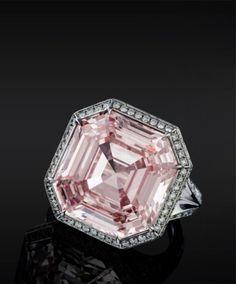 28.03 carat pink diamond ring by Jacob & Co. by carlene