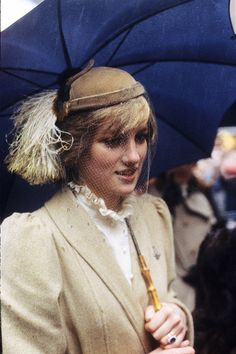 Diana, Princess of Wales during a visit to Wales - October 1981. 5