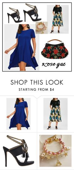 """""""Rosegal#55"""" by fatimazbanic ❤ liked on Polyvore"""