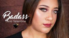 ANTI Valentinesday Make-Up Tutorial. #smokeyeye #valentinesdaymakeup #makeuptutorial