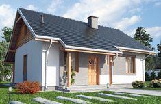 DOM.PL™ - Projekt domu DTD GOZO CE - DOM DT1-22 - gotowy projekt domu