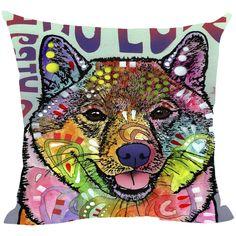 Shiba Inu Series Pillow Covers - Dean Russo Art