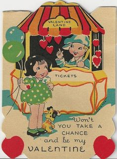 Image result for CREAM + vintage valentine card