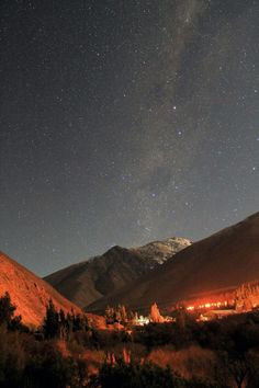 The clearest sky in the planet, Valle del Elqui, Chile The Beautiful Country, Beautiful Places, Places To Travel, Places To Visit, Paradise On Earth, South America, Scenery, Around The Worlds, Sauvignon Blanc