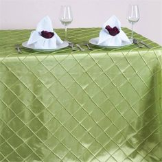 Buy Wedding and Banquet Tablecloths in classy Taffeta, Satin, Organza, or Burlap Fabric from TableclothsFactory at wholesale rates. Get the lowest market prices for upscale quality Table and Chair Decorations.
