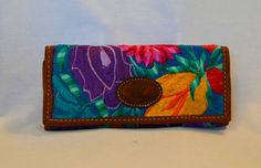 Guatemala | Handmade Embroidered Wallet - Teal