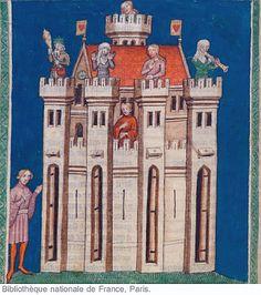 """Roman de la Rose Bibliothèque municipale d'Arras, 845"""" 250v 251r by tony harrison, via Flickr"""