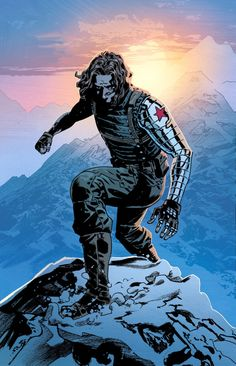 BUCKY Yes, I'm total Bucky! I'll admit I only really started to love him after seeing Captain America: The Winter Soldier, but since then I've read some of his comics and I just adore him. Bucky Barnes Marvel, Marvel Avengers Comics, Marvel Dc Comics, Marvel Heroes, Winter Soldier Wallpaper, Arte Nerd, Captain America And Bucky, Marvel Infinity, Marvel Characters