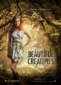 Beautiful Creatures , starring Alice Englert, Viola Davis, Emma Thompson, Alden Ehrenreich. Ethan longs to escape his small Southern town. He meets a mysterious new girl, Lena. Together, they uncover dark secrets about their respective families, their history and their town. #Drama #Fantasy #Romance
