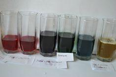Радуга из капусты - доступные химические опыты.