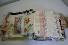 altered fabric book